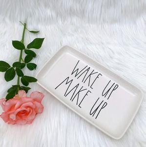 Rae Dunn Wake up Make Up Tray